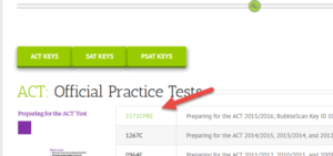 New ACT Answer Keys Available – BubbleScan