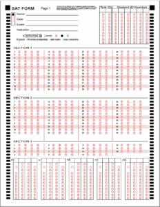 image about Printable Scantron referred to as Printable Scantron